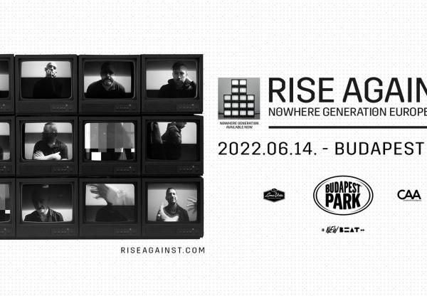 A hazai közönségnek is bemutatja új albumát a Rise Against – június 14-én koncerteznek a Budapest Parkban